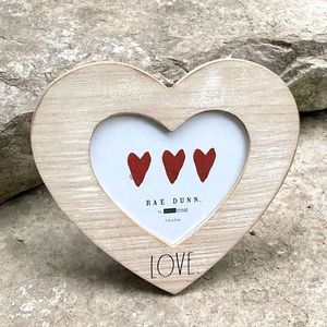 Rae Dunn LOVE Wooden Picture Frame